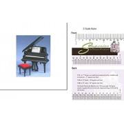 Dollhouse Miniature Mniature Baby Grand Piano