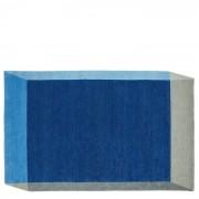 Iso Teppich 260 x 162 cm Blau Puik
