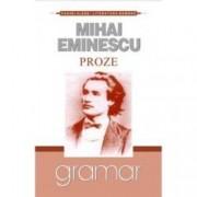 Proze. Mihai Eminescu