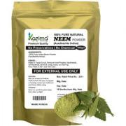 KAZIMA Premium Quality Neem Powder (100g) - 100 Pure Natural Herbal Fresh - Remove Acne/Pimples blackheads anti-bacterial dandruff scalp scars