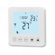 Termostat inteligent HY08 controlat prin Internet pentru centrale termice compatibil Alexa si Google Home