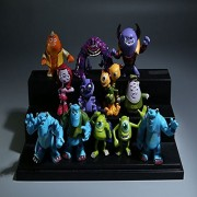 12pc/set Monsters Inc. Monsters University Mike Sully Mini PVC Action Figure Toy
