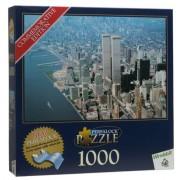 Perfalock New York Series 1000-piece Puzzle: Above New York City