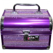 Pride Supreme to store cosmetics Vanity Box (Purple)