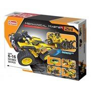 Bo Toys Building Bricks STEM Toy, 301 Pcs Dune Buggy & Construction Timber Grab Building Blocks, Build It Yourself Toys
