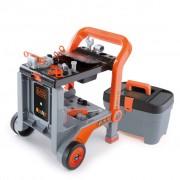 Smoby Mobile Workshop BLACK+DECKER Silver 360202