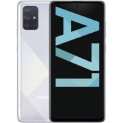 "Telefon Mobil Samsung Galaxy A71, Super AMOLED touchscreen 6.7"", 6GB RAM, 128GB Flash, Camera Quad 64+12+5+5MP, 4G, Wi-Fi, Dual SIM, Android (Argintiu) + Cartela SIM Orange PrePay, 6 euro credit, 6 GB internet 4G, 2,000 minute nationale si internationale"