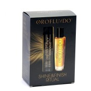 Revlon Set OROFLUIDO Beauty Elixir 50ml y Hair Spray Strong