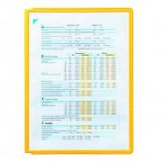 DURABLE Klarsichttafel mit Profilrahmen für DIN A4, VE 10 Stk gelb, ab 3 VE