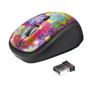 Trust Yvi Wireless Mouse Flower Power 20250