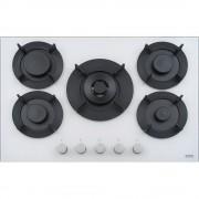 Plita incorporabila Franke Maris Free FHMF 755 4G DC C 106.0541.753, Gaz, 5 arzatoare, Arzator dubla coroana, Aprindere electrica integrata, Dispozitiv de siguranta, Gratare de fonta, Latime 75 cm, Alb