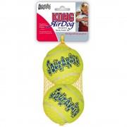 Kong minge de tenis cu zornăitor - set de 2, mărimea L, Ø 8 cm