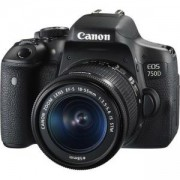 Огледално-рефлексен фотоапарат Canon EOS 750D + Обектив EF-S 18-55 IS STM + DSLR ENTRY Accessory Kit (SD8GB/BAG/LC) AC0592C005AA_AC0033X090