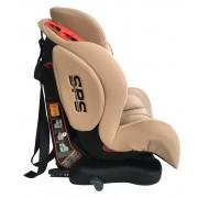 ISOFIX-es MamaKiddies Universe biztonsági autósülés (9-36 kg) bézs színben
