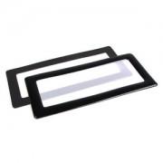 Filtru de praf DEMCiflex Dust Filter Square 2x 40mm - Black/White