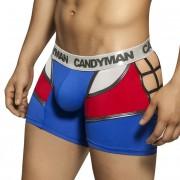 Candyman Spider Network Back Costume Boxer Brief Underwear Blue 99038