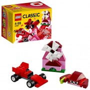 LEGO Classic Red Creativity Building Blocks for Kids (55 pcs) 10707