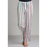 Mia Lucce PJ Pant - Aqua Stripe - Womens Sleepwear Nightwear