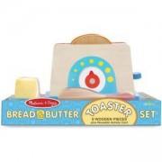 Детски дървен тостер - 19344 - Melissa and Doug, 000772193443