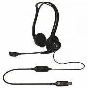 LOGITECH Corded USB Stereo Headset PC 960 - Business EMEA 981-000100