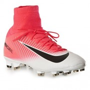 Nike Kids' Jr. Mercurial Superfly V FG Soccer Cleat (Sz. 6Y) Racer Pink