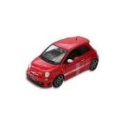 Miniatura Abarth 500 Vermelho - Escala 1:18 - Bburago 18-12078