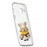 Husa de protectie Minion Chef Samsung Galaxy J4 Plus 2018 rez. la uzura anti-alunecare Silicon 215
