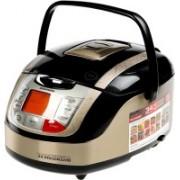 REDMOND RMC-M4502E, Digital smart multicooker Rice Cooker, Deep Fryer, Slow Cooker, Food Steamer(5 L, Black+Metallic)