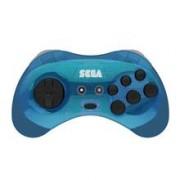 Controller Arcade Pad Sega Saturn Wireless 2.4G M2 Blue Pc