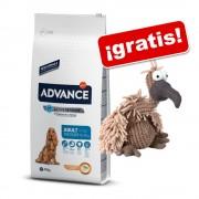 Affinity Advance 12 / 14 kg + Peluche Gustavo ¡gratis! - Medium Adult pollo y arroz - 14 kg