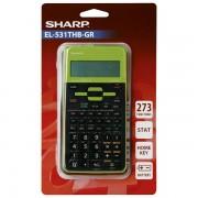 Kalkulator tehnički 102mjesta 273 funkcije Sharp EL-531TXHBGR zeleni blister 000036077