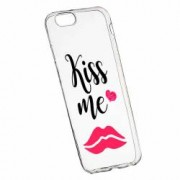 Husa Silicon Transparent Slim Kiss Me 103 Xiaomi Mi A1