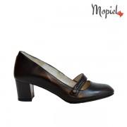 Pantofi dama din piele naturala 24701/Negru/Rona