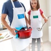 smartphoto Förklädesset föräldrar och barn