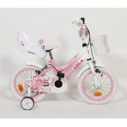 """Dječji bicikl Lola 16"""" roza bijela"""