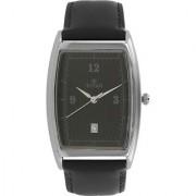 Titan Quartz Black Tonneau Men Watch 1640SL01