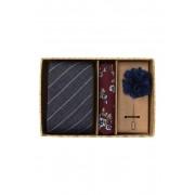 Original Penguin Nara Stripe 3-Piece Tie Set NAVY