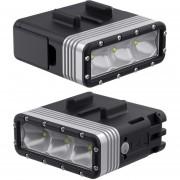 Lampara de Led Sp Gadgets POV Light para cámara Gopro a Prueba de Agua
