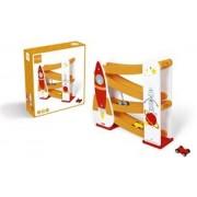 Scratch Preschool: Rolling Slope - Raket Met 3 Autootjes