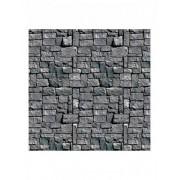 DEcoração muro de pedra cinzento Halloween