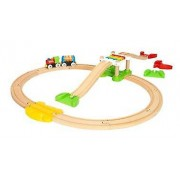Brio My First Railway Beginner Pack 33727 Toddler Wooden Train Set