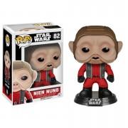 Pop! Vinyl Figura Funko Pop! Nien Nunb Bobble-Head - Star Wars: Episodio VII
