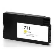 Atramentová kazeta HP no.711 YELLOW (29ml) kompatibilná