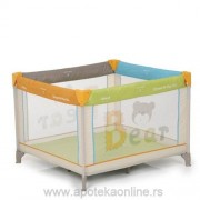 HAUCK PRENOSIVI KREVETAC/ OGRADICA DREAM N PLAY SQUARE - BEAR