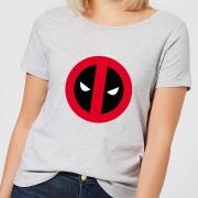 Marvel Deadpool Logo Dames T-Shirt - Grijs - 5XL - Grijs