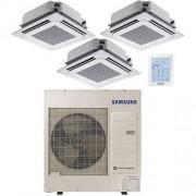 Samsung Climatizzatore Condizionatore Samsung Triple Mini Cassetta 4 vie 12000 BTU U.E. AC100MXADKH INVERTER