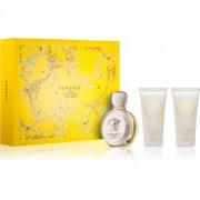 Versace Eros Pour Femme coffret III. Eau de Parfum 50 ml + gel de duche 50 ml + leite corporal 50 ml