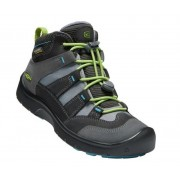 Gyerek cipő Keen Hikeport MID Strap WP Y, mágnes / zöld