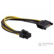 Cablu alimentare Delock 82924 SATA 15 pin -PCI Express 6 pin