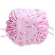 Glowing Buzz Cosmetic Pouch(Pink)